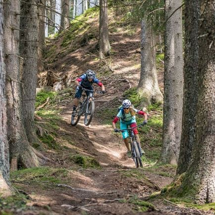 SunTrail - MTB tour for kids in the Brixen Valley.