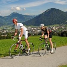 Road bike tour around the Hohe Salve