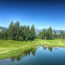 Circular route around Westendorf's Golf Course