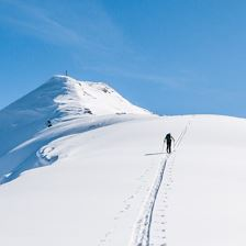 Kitzbühel Alps ski touring transition (4. day tour) - stage 1