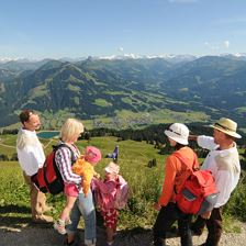 Via Rigi to the summit of the Hohe Salve