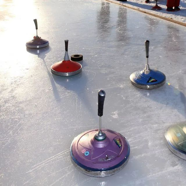 Curling - eisstockschieten