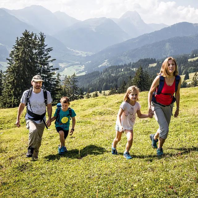 Family hikes in Kirchberg in Tirol