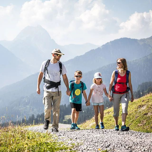 Family Hikes in Brixental Valley