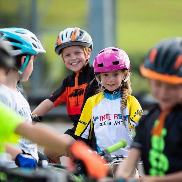 Kind im Bikepark Brixen