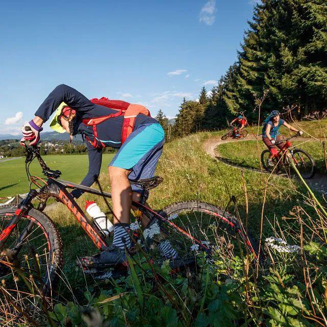 Mountainbike-Übungsgelände